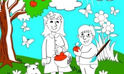 Coloring Page with Kids
