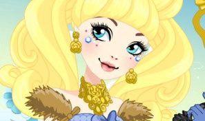 Blondie Lockes Thronecoming Dress-Up