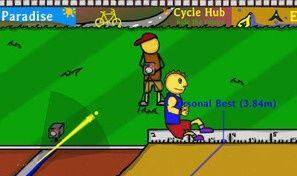 Original game title: Jumping Long