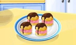Sara's Cooking Class: Ice Cream Puffs
