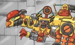 Dino Roboter Pachucephalo Saurus