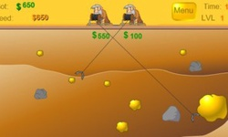 Gold Miner 2-Player