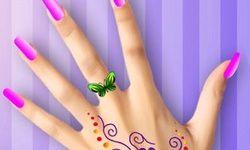 Party Nail Makeup