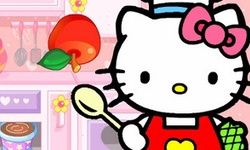 Hello Kitty Memotong Buah