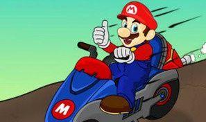 Original game title: Mario Bike League