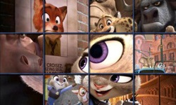 Zootopia City Dash Puzzle