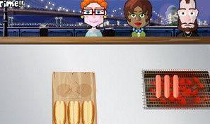 Original game title: Hotdog Hotshot Online