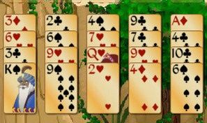 Original game title: Forty Thieves Solitaire Gold