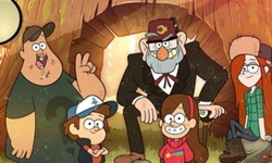 Gravity Falls Hidden Letters