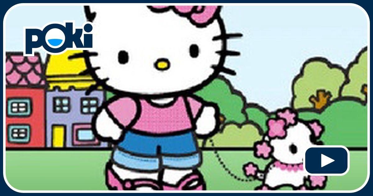 Hello kitty solitaire online juega gratis en paisdelosjuegos for Juegos de hello kitty jardin