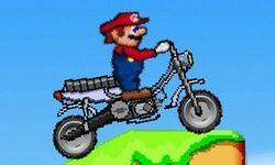 Super Mario pe Motocicleta