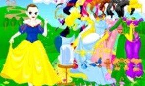 Snow White Dress Up 3