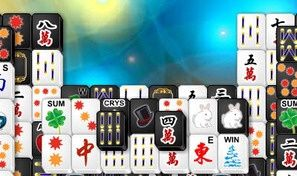 Black White Mahjong 2