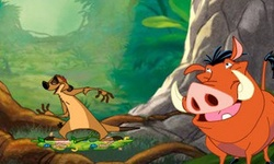Timon Pumba Grub Ridin'