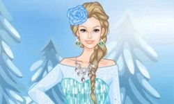 Habillage Barbie La Reine des Neiges