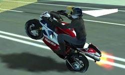 Sepeda Motor vs Polisi