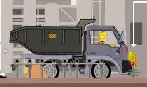 Original game title: Bart Factory Truck