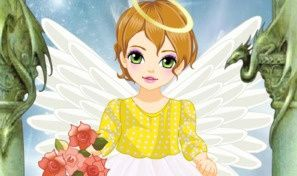 Original game title: Baby Angel Dress-Up