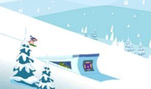 Original game title: Rufus Snow Ride
