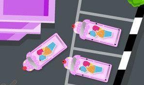 Original game title: Ice Cream Truck Parking