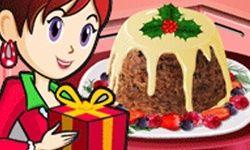 Vánoční Pudink: Sara Kuchařkou