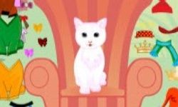 White Cat Dressup