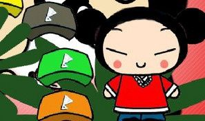 Original game title: Pucca Dress Up