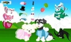 Two Puppy Dress Up