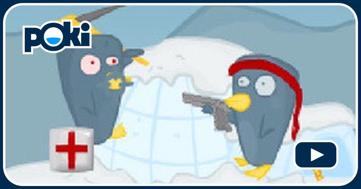 Penguinz Game - Shooting Games - GamesFreak