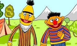 Bert en Ernie Letters
