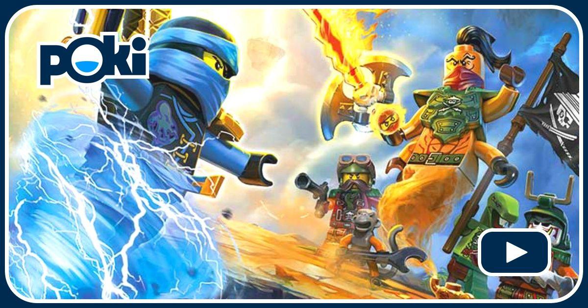 NINJAGO SKYBOUND - Speel Ninjago Skybound Gratis op Poki.nl!