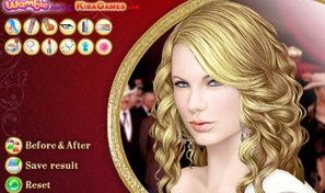 Original game title: Taylor Swift Make Over