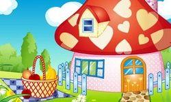 Smurf House Decoration