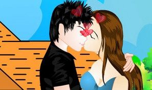 Young Lover Kiss