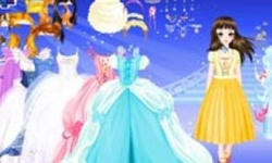 Princess Cinderella Dress Up