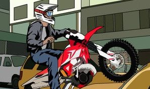 Original game title: Rush Hour Motocross