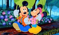 Puzzle Mickey et Minnie