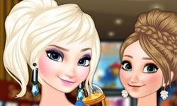Irmãs de Frozen no Cinema