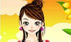 Original game title: Sunflower Dress Up