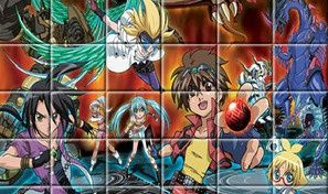 Original game title: Bakugan Jigsaw Puzzle