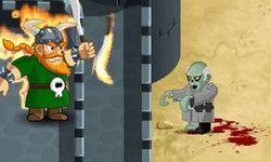 Защита от зомби: замок