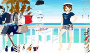 Original game title: Ocean View Dress Up