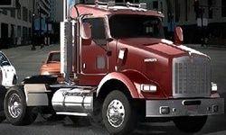 18-Wheeler In Traffic