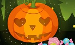 Halloween Cute Pumpkin Head