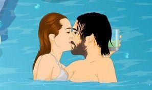 Mileys Swimming Hot Fun