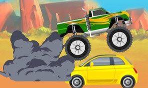 Original game title: Mega Truck Crusher