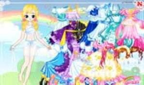 Original game title: Lucy Gowns Dress Up