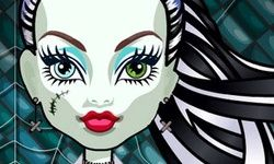 Účesy Monster High: Frankie Stein