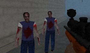 Slender in Zombie Apocalypse