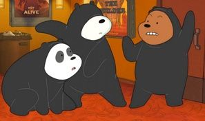 We Bare Bears: Shush Ninjas
